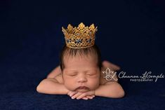 Check out this item in my Etsy shop https://www.etsy.com/listing/289743477/royal-sapphire-golden-crown-newborn-boy