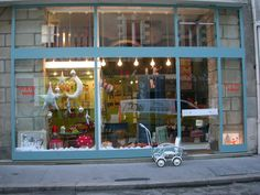 Les P'tits Bobos à Nantes, jolie boutique.