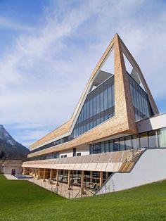 Lovely Amazing Cobra Like Solar Building By Zechner U0026 Zechner | Solar And Building Nice Ideas