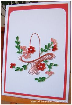 Card by Irina Klein (located on Mother's Day tab of her blog)