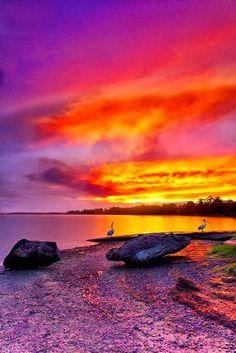 Shoalhaven River Sun mother nature moments