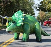 Inflatable MASSIVE Triceratops 10 Feet Long