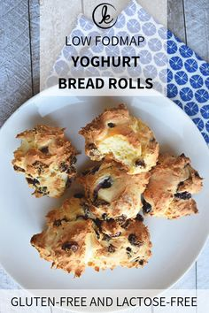 Healthy Meals For Kids Healthy yoghurt bread rolls. Low FODMAP, gluten-free and lactose-free. - The yoghurt bread rolls by Personal Body Plan are healthy light bread rolls with quark or greek yoghurt. I made them low FODMAP and lactose-free. Yummy Healthy Snacks, Snack Recipes, Healthy Recipes, Healthy Meals, Free Recipes, Cookie Recipes, Fodmap Breakfast, Free Breakfast, Lactose Free