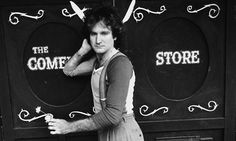 Out of this world ... Comedian Robin Williams outside the Comedy Store in 1978. Photograph: Wynn Miller/Time & Life Pictures/Getty Image