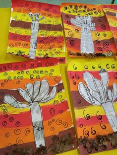 Diy And Crafts, Crafts For Kids, Arts And Crafts, Autumn Activities, Learning Activities, Art Attak, Autumn Crafts, Butterfly Art, Art Plastique
