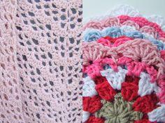 Haken en meer: Zomerse omslagdoek en zomerse bloemen coasters