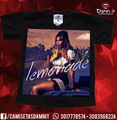 Camiseta Lemonade Beyonce https://www.facebook.com/CamisetasDamnit