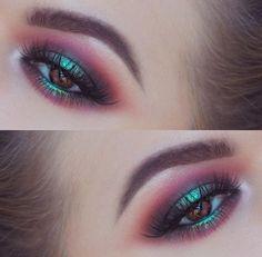 Stunning eye makeup idea - Lash factory
