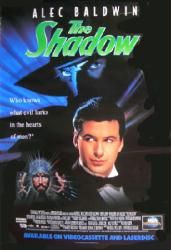 The Shadow movie poster [Alec Baldwin] video poster Only $7.99