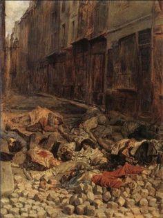 Barricade at Rue de la Mortellerie