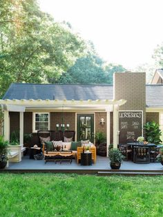 The experts at HGTV.com share 13 easy ways to transform your outdoor space for…