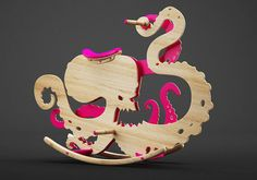 Monster Chair by Constantin Bolimond
