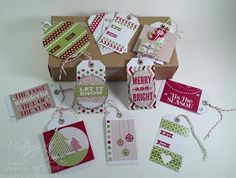 InkyPinkies: Tag, You're DONE! Twelve Tags and Pop-Out Box Card - USWDAF
