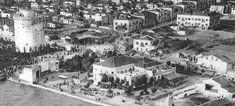 Αεροφωτογραφία της περιοχής των κήπων του Λευκού Πύργου το 1916