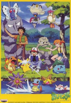 Original Pokemon, indigo league, generation 1