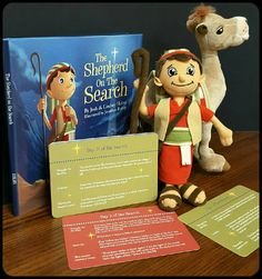 Mary & Martha The Shepherd on the Search. Finding CHRIST in Christmas. Incudes the book, 25 days of activity cards, the shepherd, and the camel. A family tradition celebrating the birth of Christ!