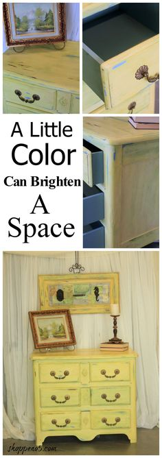 A Little Color Can Brighten A Space