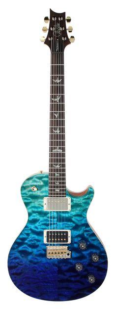 PRS Mark Tremonti Artist Package Brazilian Blue Fade   Rainbow Guitars