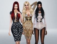 Haute Couture Spring/Summer 2014 at Fashion Royalty Sims • Sims 4 Updates