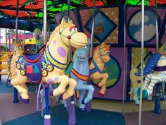 Sesame Street Carousel Horse   by Trans FX