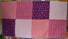 I just completed this quilt for little Kayla, 7 years old whose mom was in a car accident and her aunt C.J. a 911 operator has taken over caring for her and her sister while mom is in hospital!