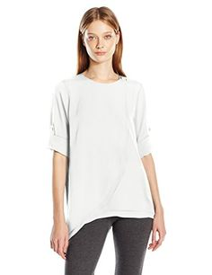 Calvin Klein Women's L/s Tiered Layer Top, Soft White, X-... https://www.amazon.com/dp/B01I3E8PYM/ref=cm_sw_r_pi_dp_x_S5oPyb2E4GAFX