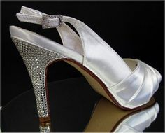 Swarovski Crystal Decadence Bridal Shoes by Kristie Ann Couture