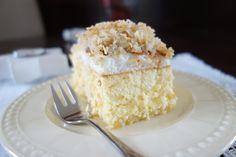 Sernik z kokosem | cheesecake with coconut
