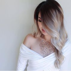 33 trendy ombre hair color ideas of 2019 - Hairstyles Trends Blond Ombre, Ombre Hair Color, Hair Colors, Ice Blonde, Hair Styles 2016, Short Hair Styles, Blonde Asian Hair, Hair Color For Asian Skin, Asian Ombre Hair
