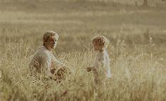 Peeta Mellark and his son