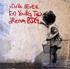 Inspiring street art.