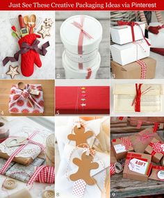 Creative Christmas Favor Packaging You Can DIY!