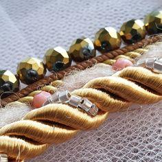 birb.studio handmade embroidery #haftręczny #tambourembroidery #handembroidery #tamborek #emvroideryhoop #giftidea #prezent #dodomu #wystrójwnętrz #obraz #textileartist #sequins #textilecollage #rękodzieło #ręcznierobione #handmade #etsygift #slowlife Beaded Bracelets, Embroidery, Studio, Jewelry, Needlework, Needlepoint, Jewlery, Bijoux, Pearl Bracelets