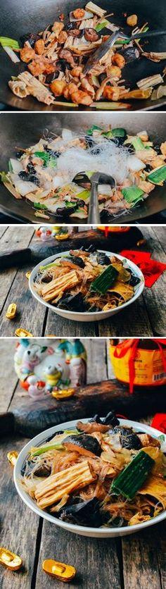 Buddha's Delight recipe, it's vegetarian and It's Vegan