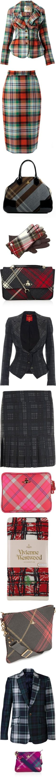 """Vivienne Westwood Tartan"" by kittyfantastica ❤ liked on Polyvore"