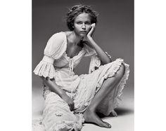 La mariée dans Vogue Paris Natasha Poly pATRICK dEMARCHELIER
