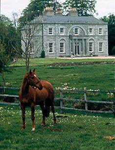 Actor-Director John Huston Estate, St. Clerans, Co. Galway, Ireland.