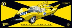 Speed Racer: Shooting Star Project by Galleta Gráfico
