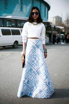 that skirt is amazing. Beijing.