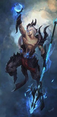 alumir posi (marino guerrero/alquimista) +control completo sobre el agua +lanza de poseidón (aumenta su controlo sobre el mar) +plus de 50 en su poder (con el arma) +no pifia en su poder (con el arma)