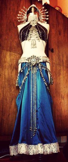 Amazing costume design by Medina Maitreya for the goddess Zoe Jakes