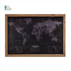 World Map Framed Graphic Art Print East Urban Home Framed Maps, Framed Wall Art, Painting Prints, Art Prints, Canvas Art, Canvas Prints, Mixed Media Photography, World Cultures, Stencil