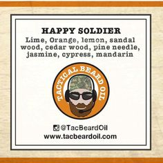Tested: 'Happy Soldier' from Tactical Beard Oil #beard #oil #review #grooming #satonmybutt