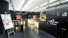BEAUTY STORES! Korres Natural Greek cosmetics store, Prague store design