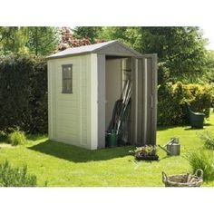 Garden Sheds Homebase overlap apex wooden garden shed - 6 x 4ft. | homebase | garden