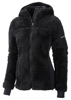 Columbia Women's Polar Yeti Plush Fleece Jacket (Black) Women's Jackets