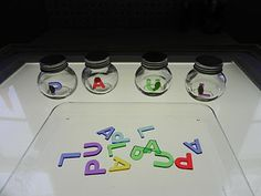 Sorting name letters..this would be great for word of the week, too