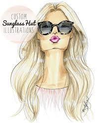 Resultado de imagem para fashion illustration faces