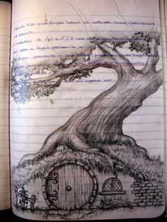I found some old notebooks with some nice drawings inside.here are some of them the quality of the image is . my notebook-bag end O Hobbit, Cool Sketches, Middle Earth, Lord Of The Rings, Art Sketchbook, Tolkien, Ink Art, Black Metal, Art Inspo