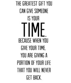 #quote So true! Some people are too busy buying others time and affection to spend it where it really matters.